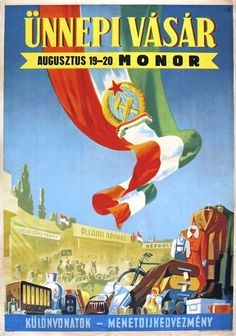 Communist Propaganda, Eastern Europe, Hungary, Revolution, Posters, History, Political Posters, Historia, Revolutions