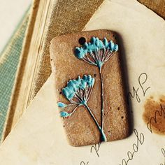 Dill handmade ceramic pendant by kylieparry on Etsy                                                                                                                                                                                 More