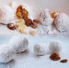 Αμυγδαλωτά: Ολόλευκη Γλύκα με ιστορία - mazimagazine.gr Marzipan, Macaroons, Healthy Desserts, Traditional, Dishes, Canning, Mykonos, Breakfast, Sweet