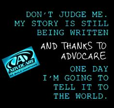 Advocare. Keep writting your STORY! Billy York, Independent Distributor http://www.nutritionismylife.com
