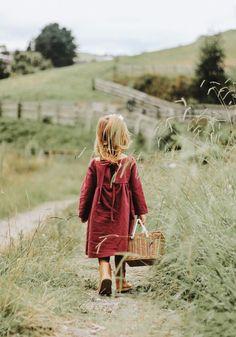 Handmade Linen Meadow Dress | MiyaAndMa on Etsy