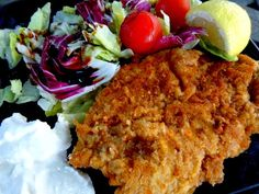 Σνίτσελ χοιρινά η εύκολη νόστιμη λύση !!! ~ ΜΑΓΕΙΡΙΚΗ ΚΑΙ ΣΥΝΤΑΓΕΣ Greek Recipes, Chicken, Meat, Food, Beef, Greek Food Recipes, Meals, Yemek, Cubs
