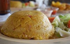 Stuffed mofongo is the best.with a little chicharron.oh yeah. Lunch Recipes, Gourmet Recipes, Diet Recipes, Vegan Recipes, Cooking Recipes, Recipies, Easy Recipes, Mofongo Recipe, Gastronomia