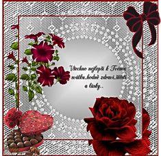 Přání k svátku « Rubrika | OBRÁZKY PRO VÁS Love Good Morning Quotes, Floral Wreath, Wreaths, Blog, Blogging, Garlands, Floral Arrangements, Flower Garlands, Flower Garlands