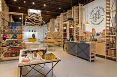 The new space features interesting skylighting, airy modular storage and custom sculpture, while...