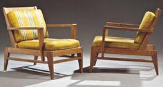 Rene Gabriel , fauteuils 1950's