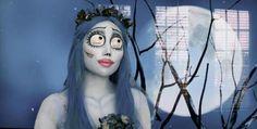genial disfraz y maquillaje de Halloween n.n' ...de Promise Tamang Phan - el cadáver de la novia - @Sophia Passini