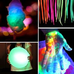 get glowing with these activity ideas