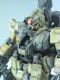 1/100 MS RX-79 [M] Ground Type prototype customized build - Gundam Kits Collection News and Reviews