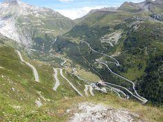 Furka Pass, Switzerland.