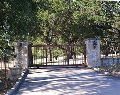 South Texas gate, Kendall County - Want a South Texas ranch? Buy one. Courtesy NWSArealty.com