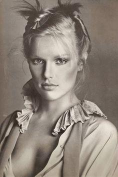 Patti Hansen, 1980s.