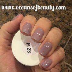 P.28 EZdip Gel Powder. DIY EZ Dip. No lamps needed, lasts 2-3 weeks! Salon…