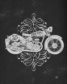 Selected illustrations by BMD Design , via Behance