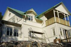 Detaljer kupor och balkong