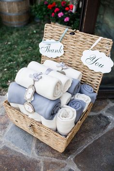 Wedding Favor Blanket