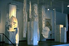 American Dawn. Related to  Louise NEVELSON (1899-1988)