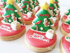 Mai's icing cookies