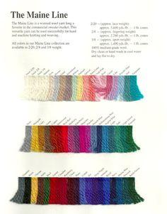 The Main Line | wool | 2/20 + 2/8 + 3/8