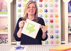 A Tisket, A Tasket Quilt Block - Free Pattern and Tutorial   GIVEAWAY