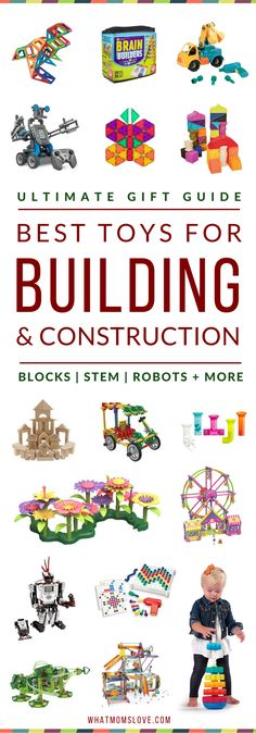 Best Building Toys For Kids | Gift Ideas For Kids Who Like To Build & Put Things Together | Best STEM Toys For Kids
