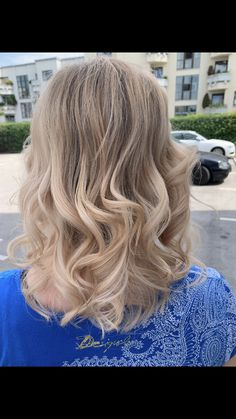 Curly hair by GHD Blonde Curls, Ghd, Curly Hair Styles, Beauty, Shaving Machine, Barbershop, Hairdressers, Dressmaking, Shaving