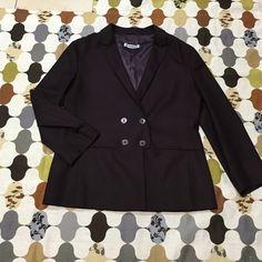 Jil Sander- purple Light blazer. Eggplant purple. Wool spandex blend. 4 button design. 20in sleeve. 24 in long. Size 40 (8) Jil Sander Jackets & Coats