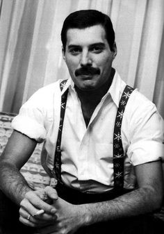 Freddie Mercury. I couldn't not have you on here. Driven, gorgeous, relentless! Fancy a platonic date.