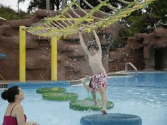 At Paradise Lagoon™, the scene is so tropical, you may find yourself happily lost in every moment of action-packed adventure.  Jump off a ...