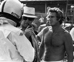Steve McQueen | Back Set of Le Mans | 1971 | as Michael Delaney