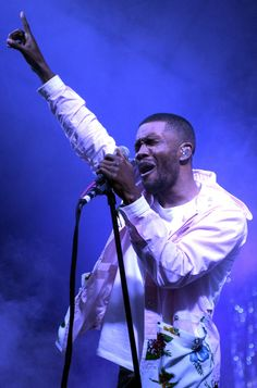 Frank Ocean lifts up the 2014 Bonnaroo Music and Arts Festival with a soaring performance on June 14 in Manchester, Tenn.