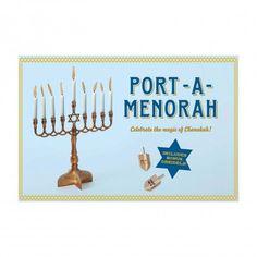 Portable Menorah