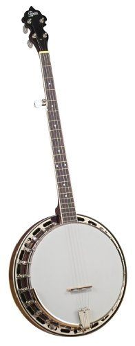 """Rover Front Porch Series RB-115 Resonator 5 String Banjo by Rover. $428.15. Our already popular line of Rover Student Banjos has been expanded to include two new """"wood rim"""" models. Introducing the RB-115 Resopnator banjo. The companion to the RB-110 open back banjos, combines all the right traditional features, and the new wood r. Save 34% Off!"""