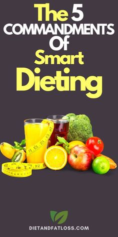 """Five tips for diet and weight loss success. To see the best results from any diet plan, you've got to know the """"diet commandments"""". These 5 diet tips for women are essential for superior fat loss results. Sadly, many women miss out on one or more of these diet rules, and it costs them their success. Click to read more about these essential diet tips for women. #diettips #dietingtips #weightlossforwomen #weightlosstips #fatloss"""