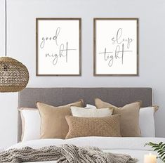 17 Trendy Bedroom Wall Decor Above Bed Diy Signs Bedroom Wall Decor Above Bed, Guest Room Decor, Bedroom Signs, Bed Wall, Diy Wall Decor, Home Decor Bedroom, Diy Home Decor, Guest Rooms, Diy Bedroom