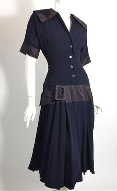 1940's dress from Dorthea's closet