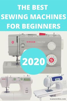 Are you ready to buy your first sewing machine? It's an exciting time, but at the same having to choose between so many options can feel a bit overwhelming, especially if you're an absolute beginner. Here's what to look for, so you can end up with the best sewing machine for your individual needs, wants and budget.There are a lot of good sewing machines out there, but what works for one person may not be the best choice for another. Let's get something straight. It's hard to wind up with a bad s Project Runway Sewing Machine, Sewing Machine Basics, Sewing Machines Best, Sewing Machine Quilting, Brother Sewing Machines, Sewing Basics, Sewing Hacks, Sewing Machine Projects, Amazon Sewing Machine