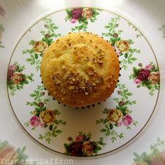 Yazdi Cupcakes (Cake Yazdi) Slightly sweet, with a cardamon flavor, they're exotic and not over powering...perfect for with tea and milk!! YUMM