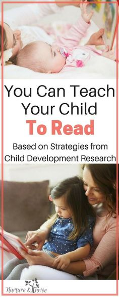 Easy to do read-aloud strategies that will help your child learn to read the natural and developmentally appropriate way. Make the most of your storytime! Tips from child development research. #teachyourchildtoread #teachyourchild #reading #childdevelopment #positiveparenting #cognitivedevelopment via @nthrive