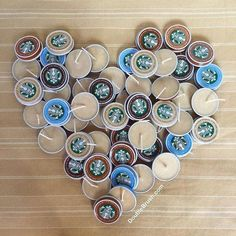 Items similar to Starbucks Candles Tealight Coffee Candles Bulk Coffee Party Favors Unpackaged 75 Pieces DIY Party Favor Candles Coffee Theme Gift on Etsy Bulk Candles, Bottle Candles, Candle Favors, Diy Candles, Beeswax Candles, Scented Candles, Coffee Favors, Coffee Gifts, Starbucks Bottles