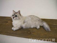 ●ネコ|morin工房ー羊毛フェルト人形作家