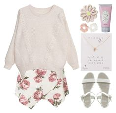 L U V - Apink by nut-and-nude on Polyvore featuring polyvore, fashion, style, Faith, Dogeared, Forever 21 and PENHALIGON'S