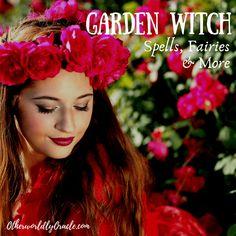 Garden Witch: Garden Spells Magic Fairies and Fairy Spells, Mermaid Spells, Garden Spells, Magic Spells, Herbal Witch, Herbal Magic, Best Herbs To Grow, Green Witchcraft, Easy Garden