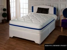 Dreamland Rayan Pocket - Mattress Only Memory Foam, Mattress, Pocket, Luxury, Storage, Bed, Furniture, Home Decor, Purse Storage