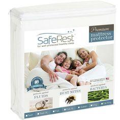 Twin Size Waterproof Mattress Protector - FDA Class 1 Medical Device