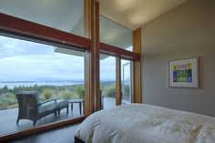 Ridge House on Pender Island, British Columbia by Marko Simcic & Brian Broster via @HomeDSGN