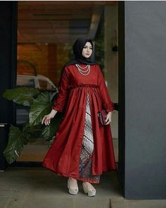 Hijab Skirt, Hijab Abaya, Hijab Outfit, Hijab Fashion, Women's Fashion, Fashion Tips, Maxi Dresses, Dress Outfits, Hijab Wedding