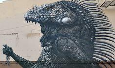 Street Art by ROA at Los Muros Hablan in San Juan, Puerto Rico 2