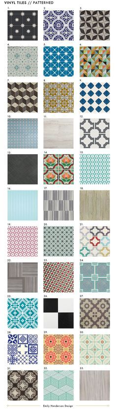 Best Affordable Vinyl Tile for Apartments-- put it down when you move in, and take it right back up when you move out!