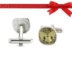 MRP:  Rs.1,899.00 /  $34.18 Giftsomeone:Rs.950.00 / $17.10 50% Discount Shipping Charges Free Shipping To India(IND) Product Details  Nickel Plated Crystal Cufflinks with fancy box packed, Free Size, Formal Office wear as well as can be used in evening parties, 1 Year Warranty, Weight 30gms. http://www.giftsomeone.com/c/product_info.php/products_id/4074